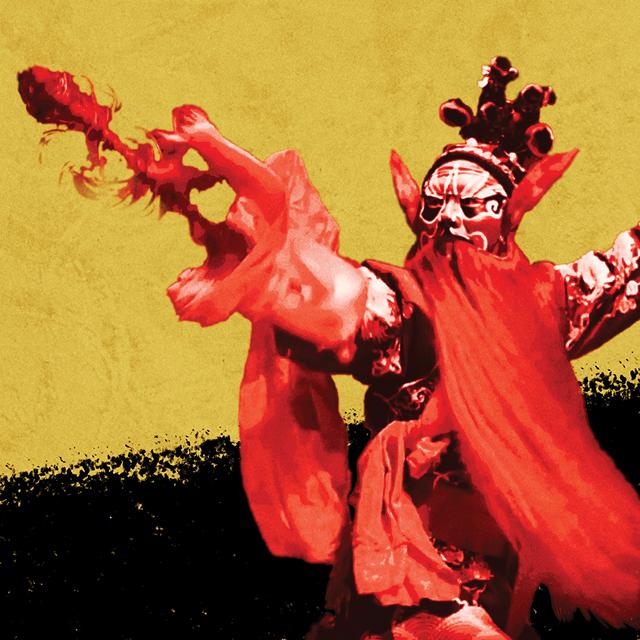 Beijing Opera Story Tile