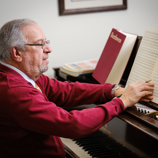 Music Professor David Levy