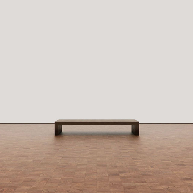 Art Gallery with Bench