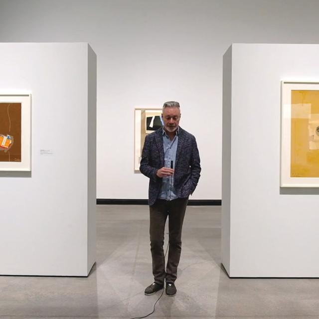 Paul Bright in Hanes Gallery