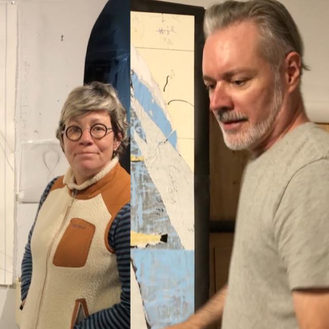 Paul Bright and Leigh Ann Hallberg