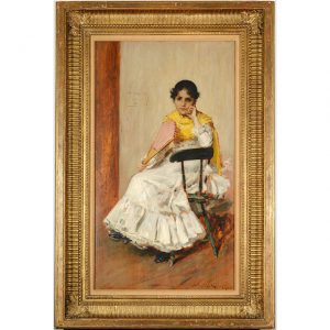 W M Chase painting