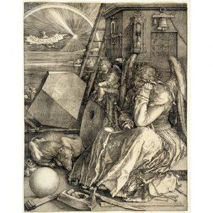 Durer Melancholia Print
