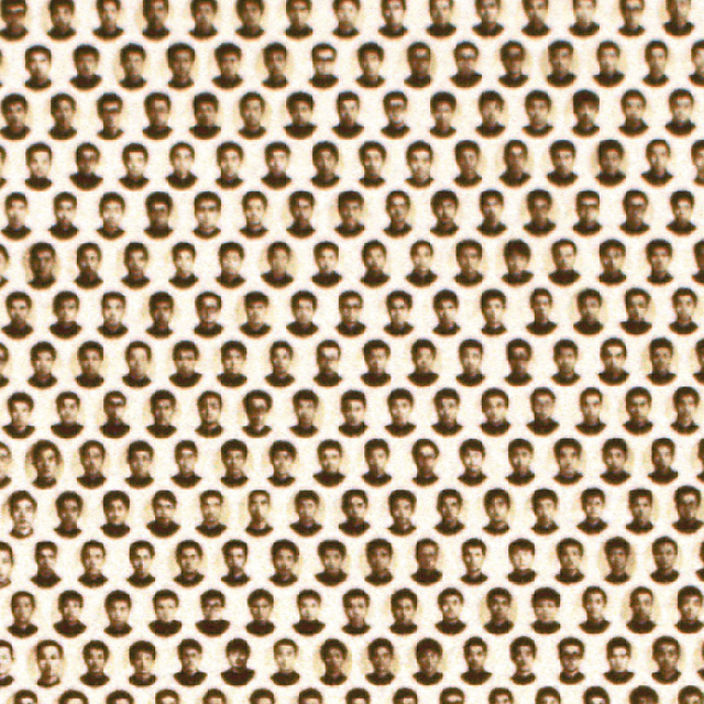 image of many small faces