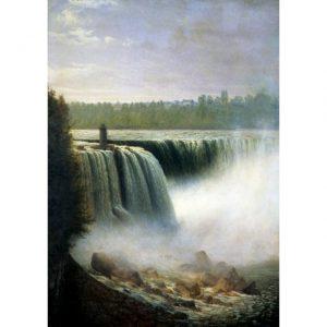 Bierstadt waterfall
