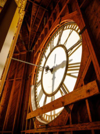 wait chapel clock face image