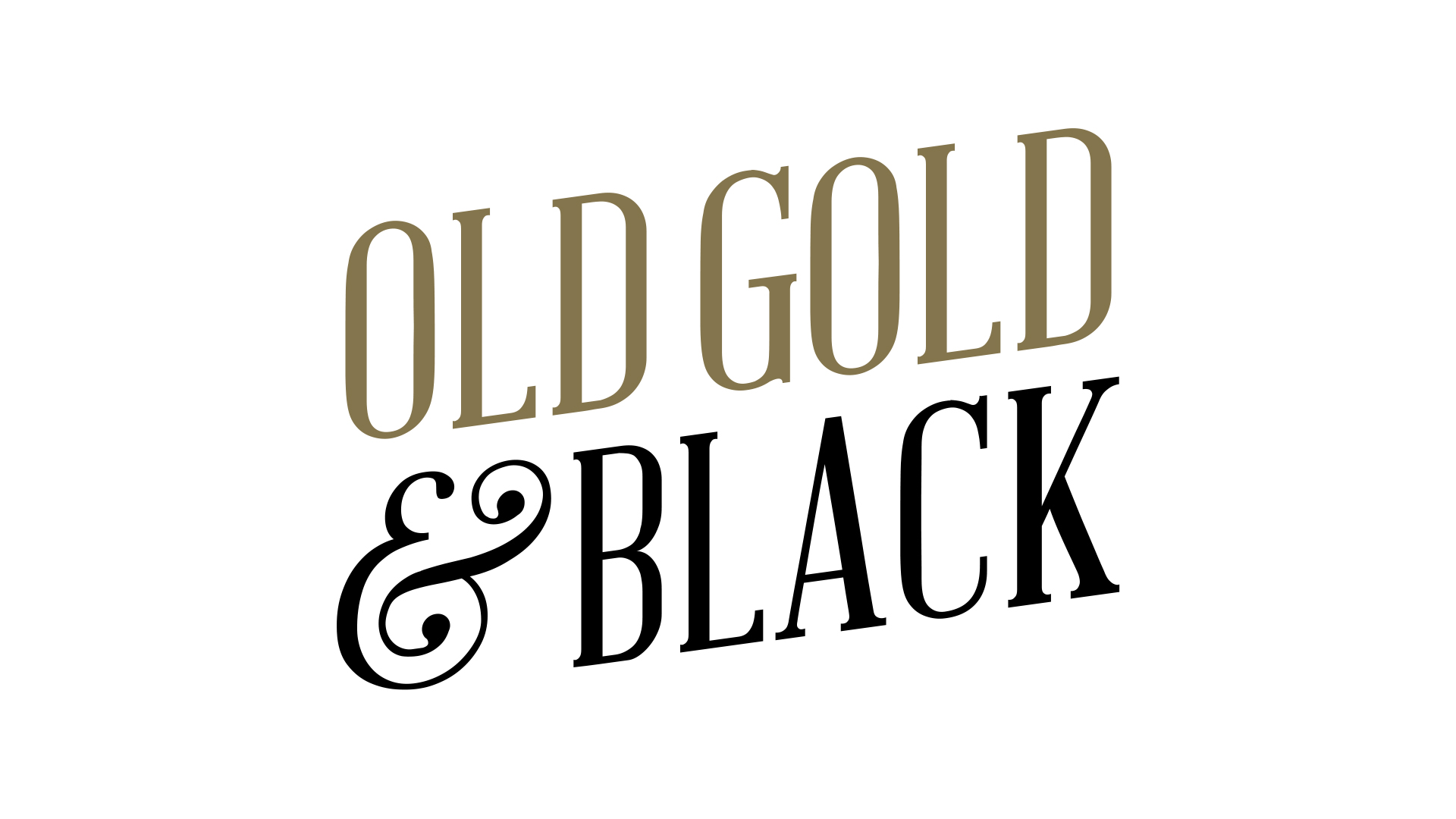 Old Black and Gold wallpaper
