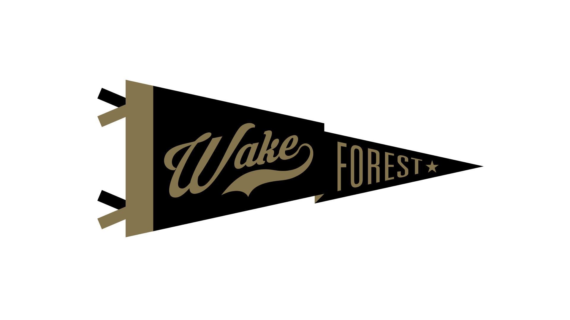 Wake Forest pennant wallpaper