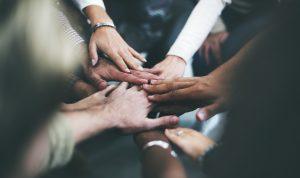 Photo: Hands together