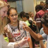 Comstock-Ferguson's advanced chemistry class community outreach project.
