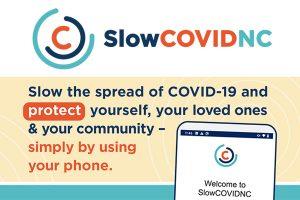 Download Slow COVID NC app