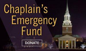 Chaplain's Emergency Fund Logo