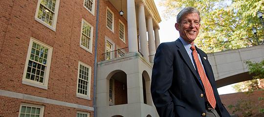 Steve Reinemund on campus