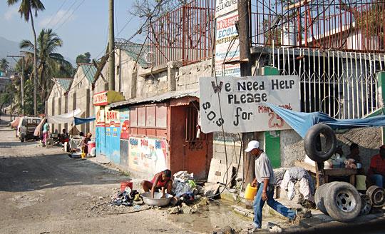 Haitian street