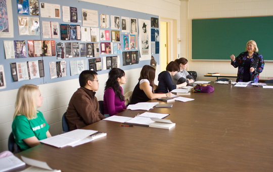 Gale Sigal teaches students