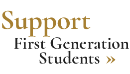 Support First Generation Students