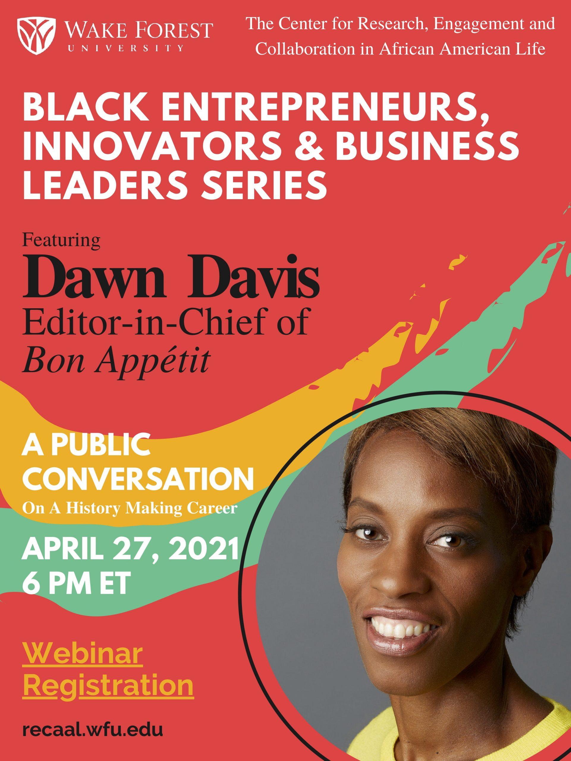 Dawn Davis Public Conversation