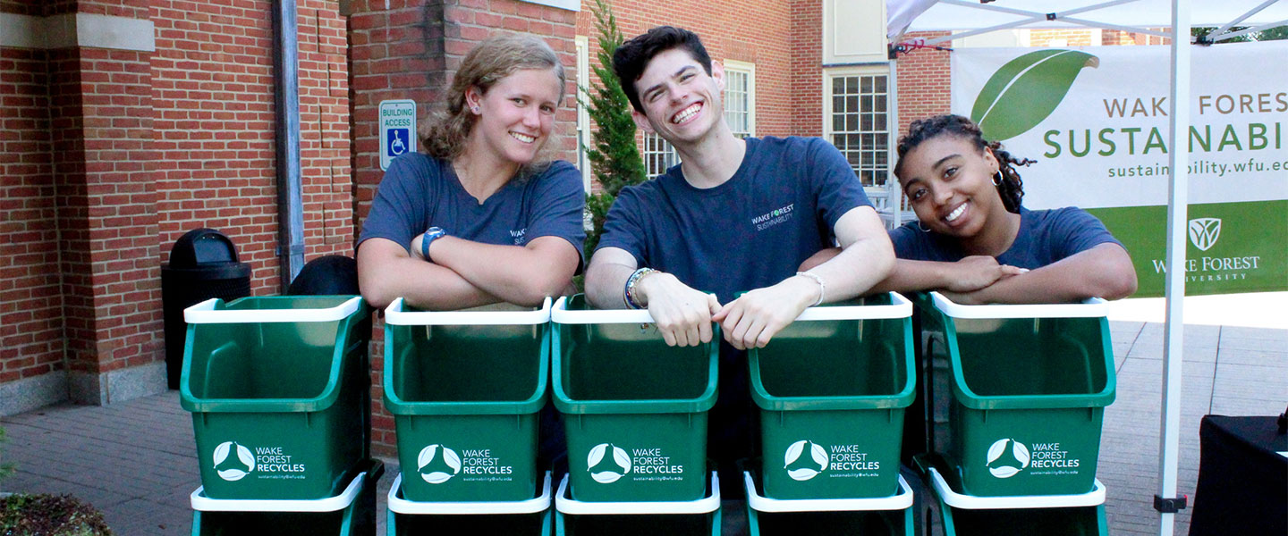 Sustainability at Wake Forest