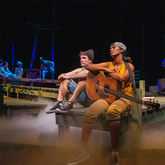 Wake Forest Theatre performs Ever in the Glades