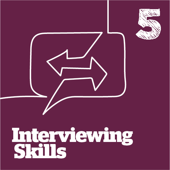 interviewing skills graphic