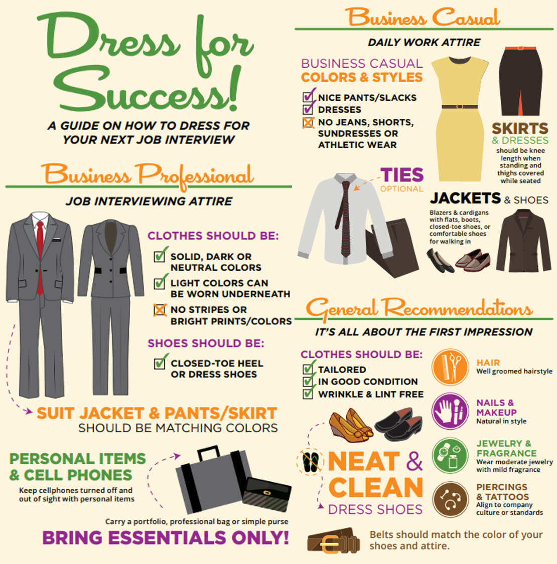 Office of Personal & Career Development | Interview Attire