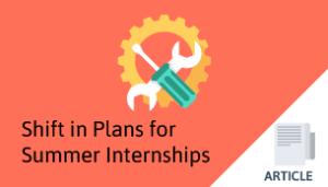 Summer internship shift