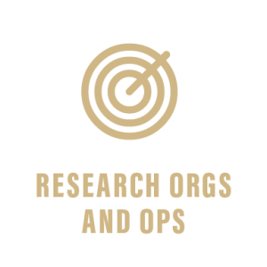 Research Organizations and Opportunities