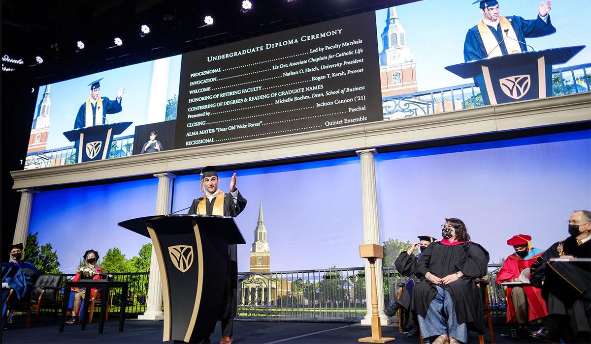 Commencement 2021 Diploma Ceremonies
