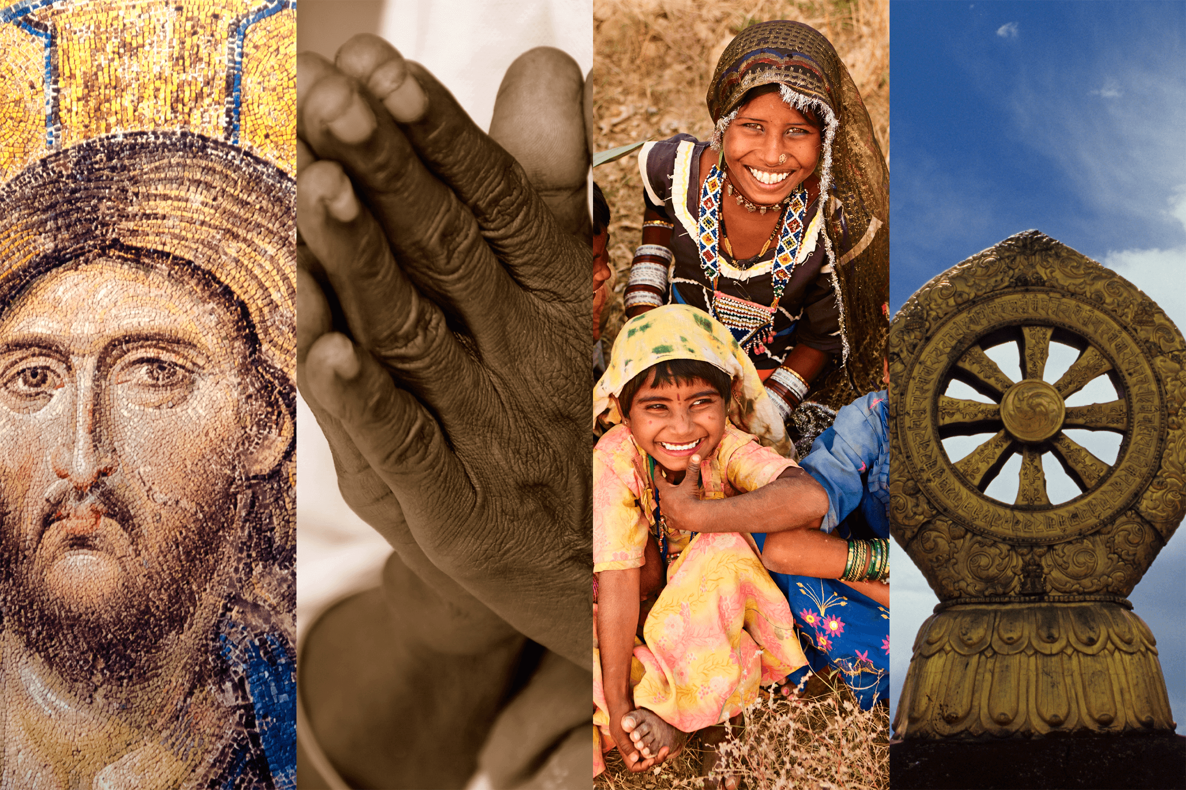 Collage of Religious Symbols