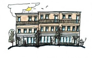 Joplin sketch of projected improvement after Tornado