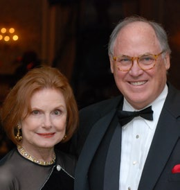 Claudia Saunders Leinss ('64) and Edward Leinss ('63)