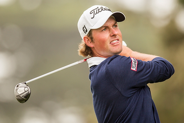 Webb Simpson at the 2012 U.S. Open