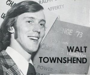Walt Townshend photo, June 1973