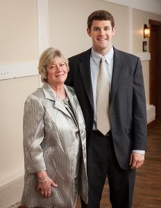 Anne Denton and Wills Denton ('10)