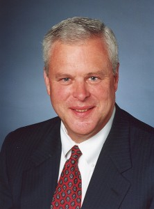 The late Graham W. Denton Jr. ('67), a trustee of Wake Forest University