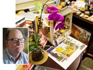 101 Things We Love About Wake Forest: No. 95 - Tom Phillips and His Amazing, Technicolor Office