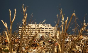 Damage to Joplin, Mo. in 2011.