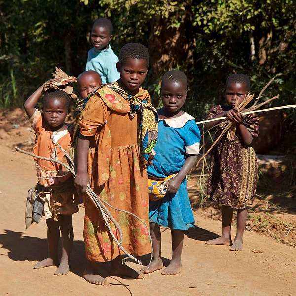 Children near Mulanje
