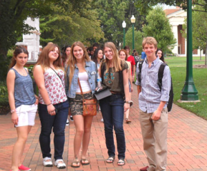 Northern Hills students visit Wake Forest.