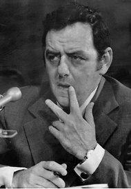 Jack Caulfield testifies before the Senate Watergate Committee in 1973.