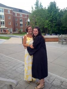 Elizabeth Stalfort surprised her best friend, Kate McCrea.