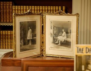 Photographs of Nancy Susan Reynolds and Mary Reynolds Babcock.