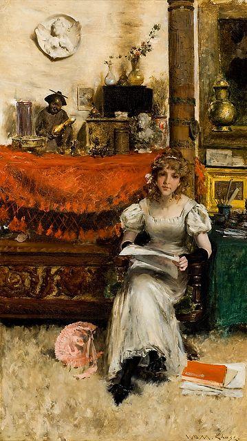 William Merit Chase, In the Studio, 1884 Courtesy of Reynolda House Museum of American Art