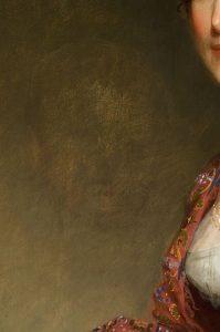 Gilbert Stuart, Mrs. Harrison Gray Otis (Sally Foster), 1809, Courtesy of Reynolda House Museum of American Art - Ghost-Baby