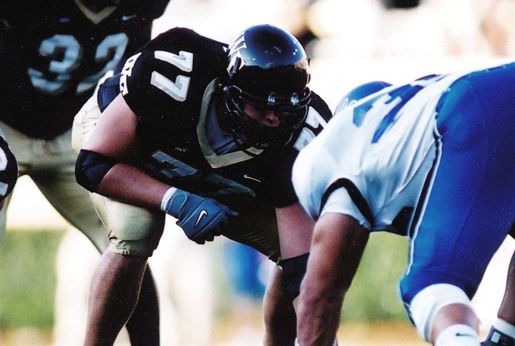 Football star Tyson Clabo ('04)
