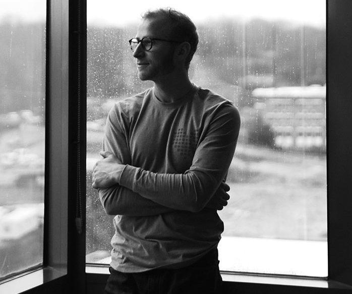 Jake Teitelbaum ('17) at Brenner Children's Hospital