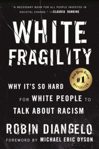Book jacket of White Fragility