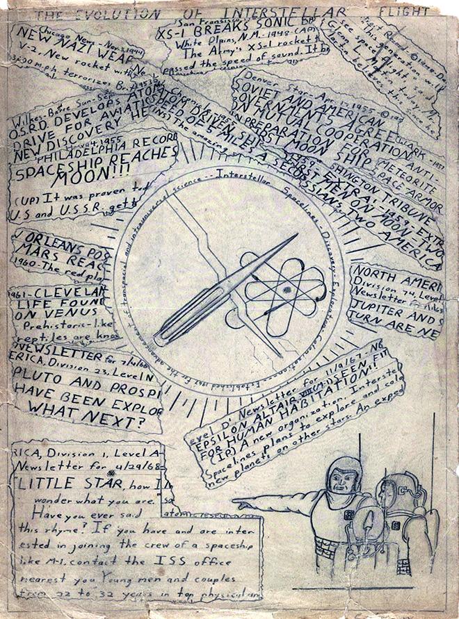 "Carl Sagan's ""The Evolution of Interstellar Space Flight,"""