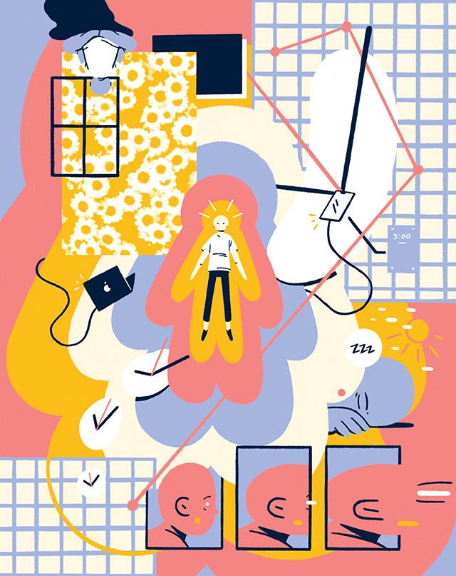 Christian Arnder illustration