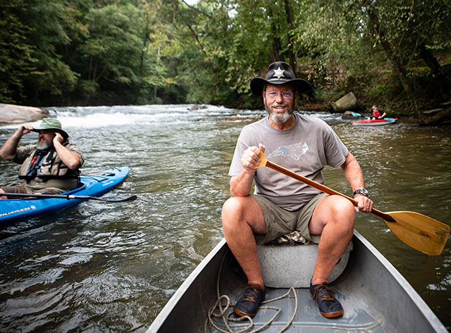 David White, a Yadkin Riverkeeper board member